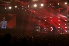 Keseruan Konser Perdana Lukas Graham di Indonesia, Pakai Batik hingga Kejutan dari Gempi