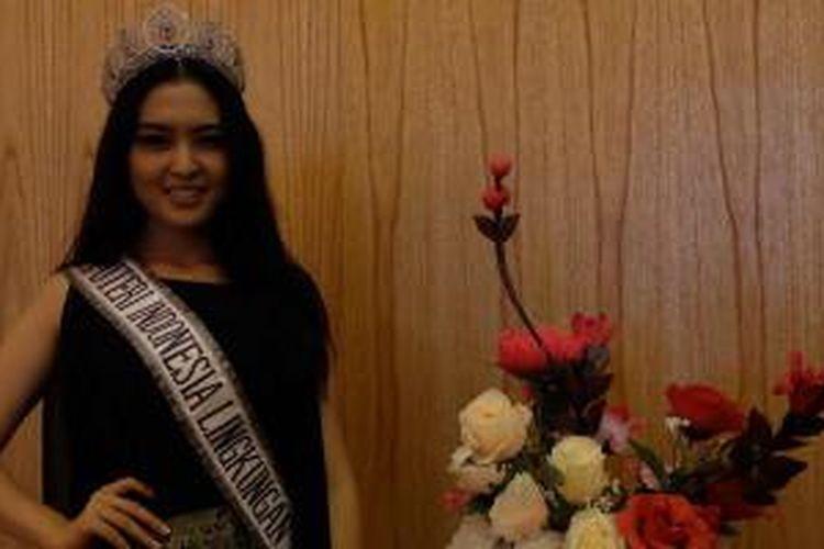 Cinthya Fabyola, Runner Up Puteri Indonesia dan Puteri Indonesia Lingkungan 2015