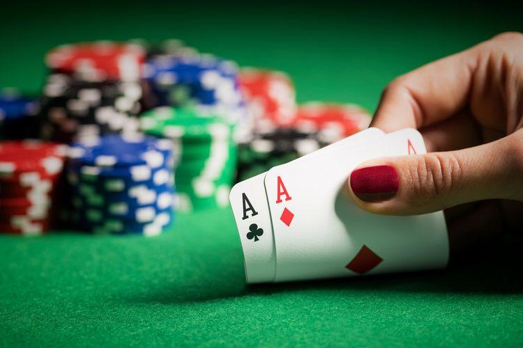 Ilustrasi Poker