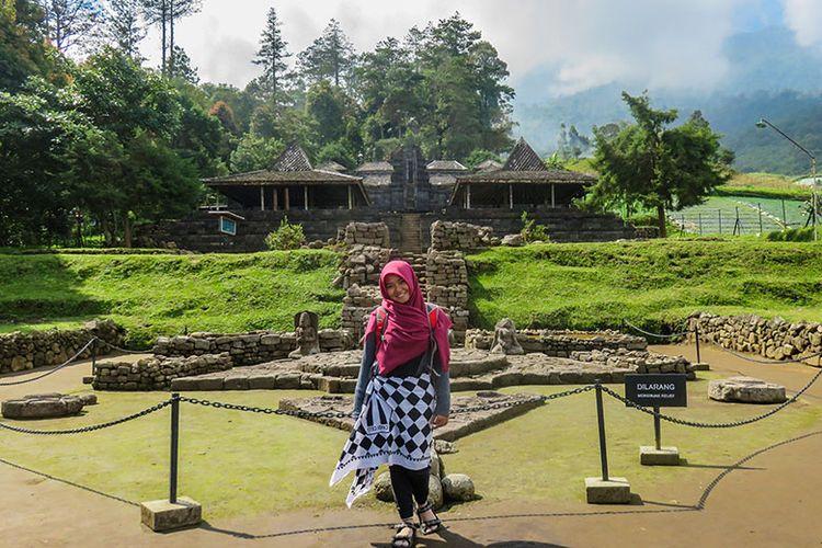 Candi Cetho di Karanganyar, Jawa Tengah.