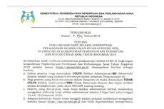 Kementerian PPPA Umumkan Seleksi Administrasi CPNS 2019, 203 Pelamar Lolos