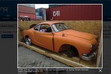 Bea Cukai Lelang Bodi Mobil Klasik Mercy 280 CE dan VW Karmann Ghia, Minat?