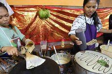 Klepon Crepes Man Ali, Kombinasi Jajanan Bali dan Modern