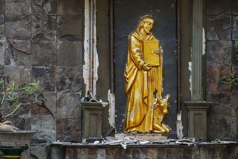 Selamat Jalan Evan, Bocah 11 Tahun Korban Ledakan Bom Gereja Santa Maria