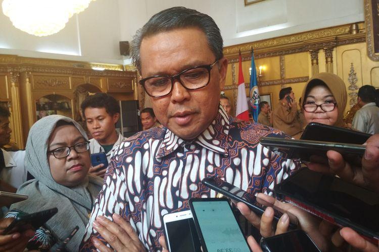 Gubernur Sulawesi Selatan Nurdin Abdullah saat diwawancara di rujab gubernur Sulawesi Selatan, Senin (2/3/2020).