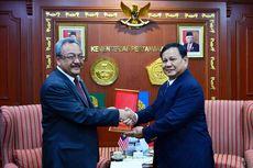 Bicarakan Pertahanan, Prabowo Subianto Terima Kunjungan Dubes Malaysia