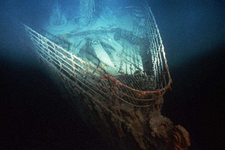 Bangkai Kapal Titanic.