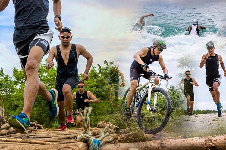 Rhino X-Tri merupakan ajang cross triathlon pertama di Indonesia yang akan diselenggarakan di Tanjung Lesung, Pandeglang, Banten, 22-24 September 2017.