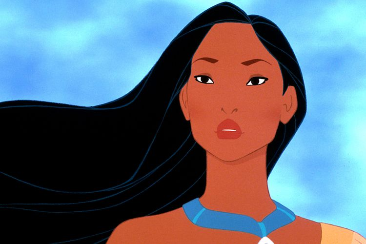 Potret Pocahontas dalam film animasi Disney
