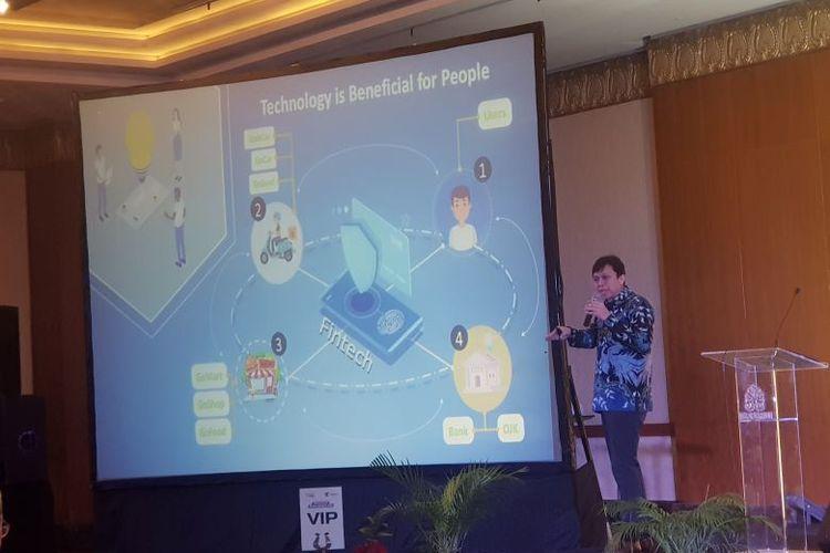 Seminar Nasional  Tren Edutech 2020: Menuju Indonesia Maju, di Balai Kartini Jakarta, Kamis (20/2/2020).