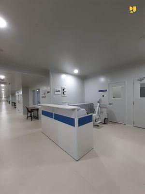 Pembangunan fasilitas isolasi dan observasi penyakit menular di Pulau Galang telah tuntas
