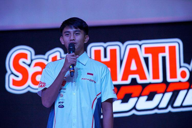 Mario Suryo Aji mengutarakan harapannya di tahun 2020 saat Launching AHRT Skuat 2020, pada Selasa (04/02/2020), di Hotel Shangri-La, Jakarta.