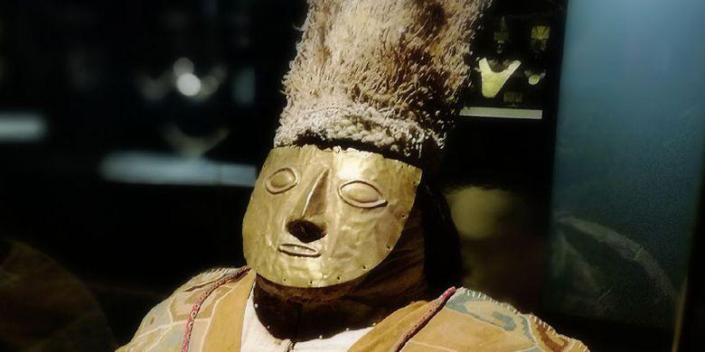 Koleksi Museum Larco di kota Lima, Peru. Museum Larco menjadi tempat populer di kalangan wisatawan terutama bagi mereka yang memiliki ketertarikan akan sejarah.