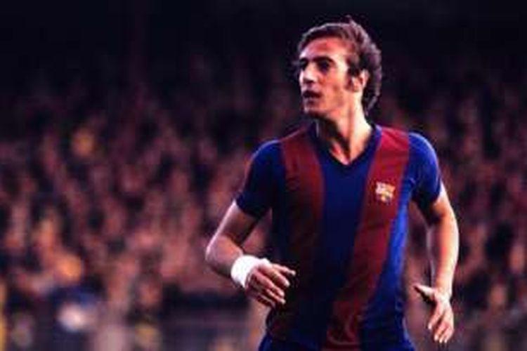 Mantan pemain Barcelona, Johan Neeskens.