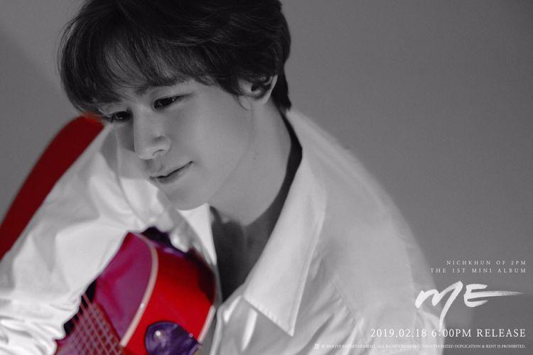 Nichkhun 2PM merilis album solo pertama, ME.