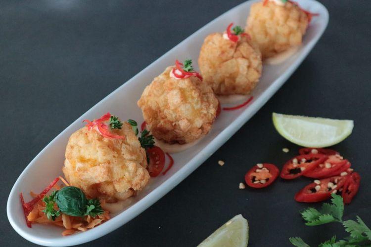 Shrimp Balls ala Bigland Sentul Hotel & Convention.