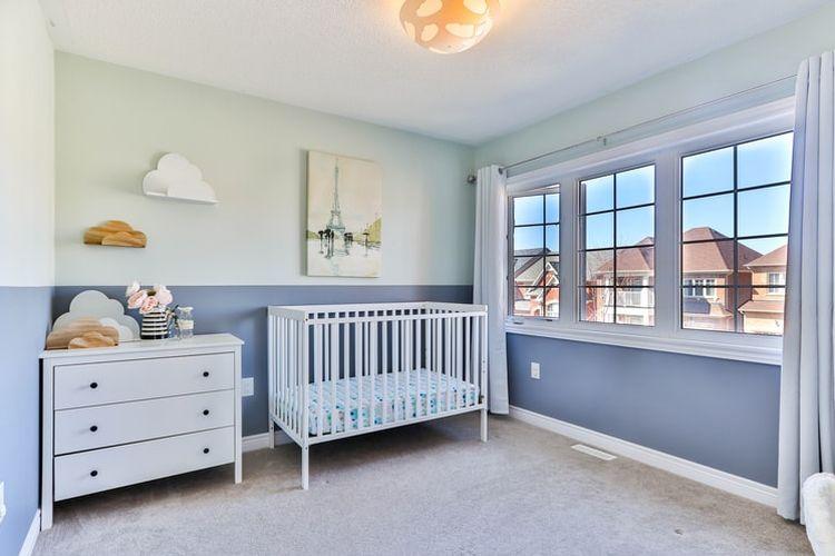 Ilustrasi kamar tidur bayi