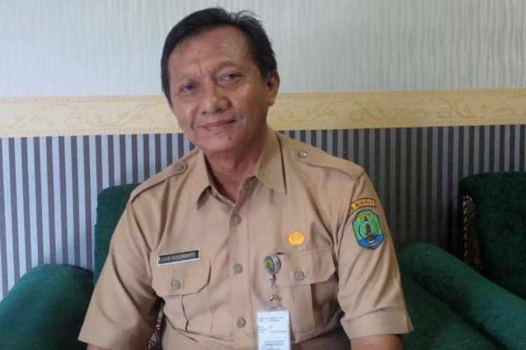 Kepala Dinas Kelautan dan Perikanan Kabupaten Nunukan Dian Kusumanto. Pembangunan infrastruktur Pelabuhan TPI akan meningkatkan penjualan ikan Nelayan Perbatasan ke Malaysia.