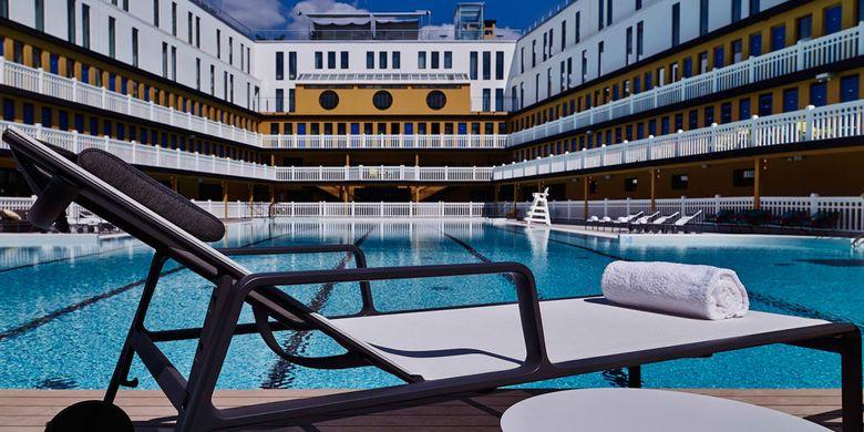 The Molitor, salah satu kolam renang terkenal di Paris