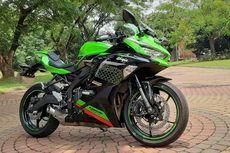 Harga Motor Sport 250 cc Full Fairing Februari 2021, Kawasaki Ninja Naik