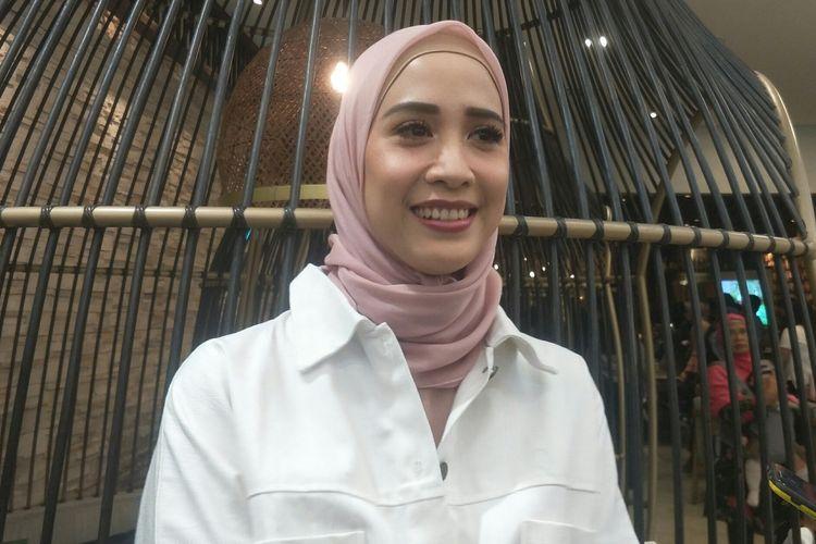 Fanny Fabriana saat ditemui di kawasan Senayan, Jakarta Pusat, Jumat (17/1/2020).