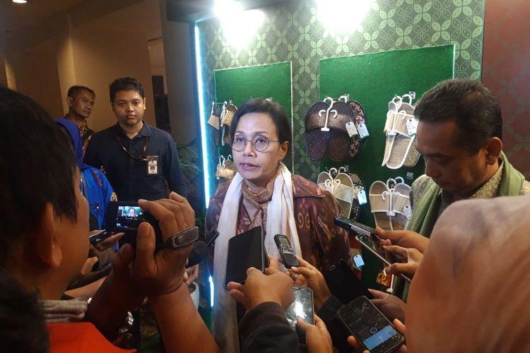 Menteri Keuangan Sri Mulyani Indrawati di Jakarta, Kamis (5/3/2020).