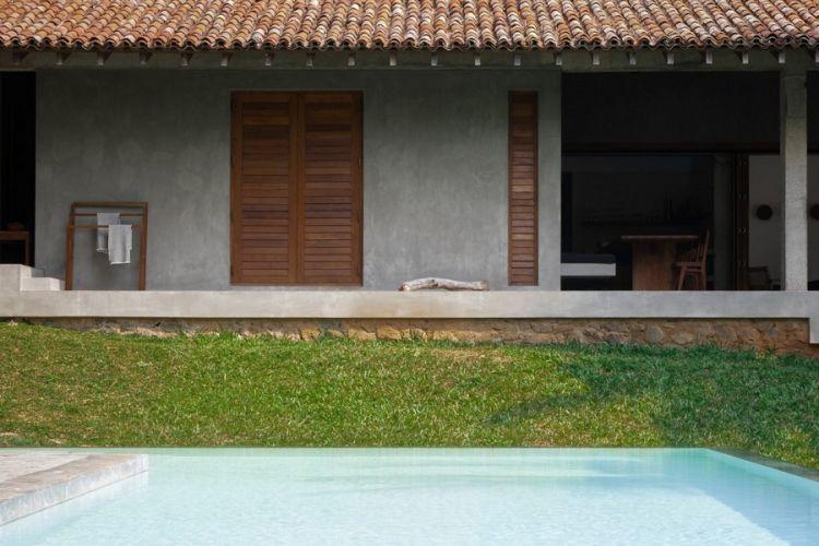 Rumah liburan K House di Sri Lanka.