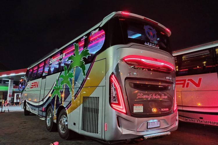 Bus AKAP baru PO SAN