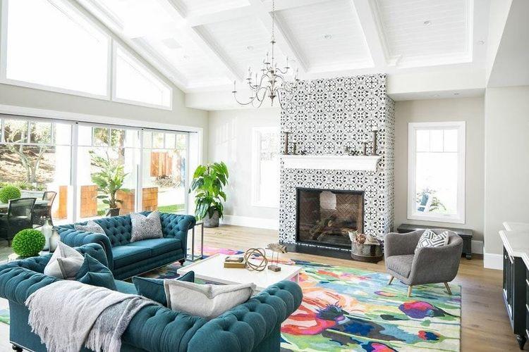 Desain interior rumah.