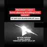 Video Viral Sebut Waspada Arus Meteor, Lapan: Tidak Perlu Khawatir