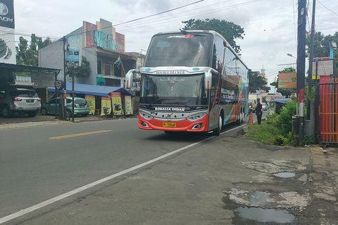 Jajal Bus Tingkat Rosalia Indah Jurusan Bogor-Malang