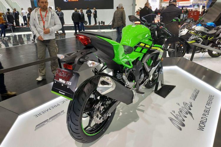 Tampilan belakang Kawasaki Ninja 125