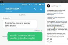 Viral Pengemudi GrabBike Tolak Angkut dan Hina Penumpang Tuli