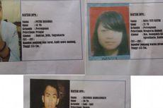 Ini Wajah-wajah DPO Kasus Penyiksaan Siswi SMA Pemilik Tato