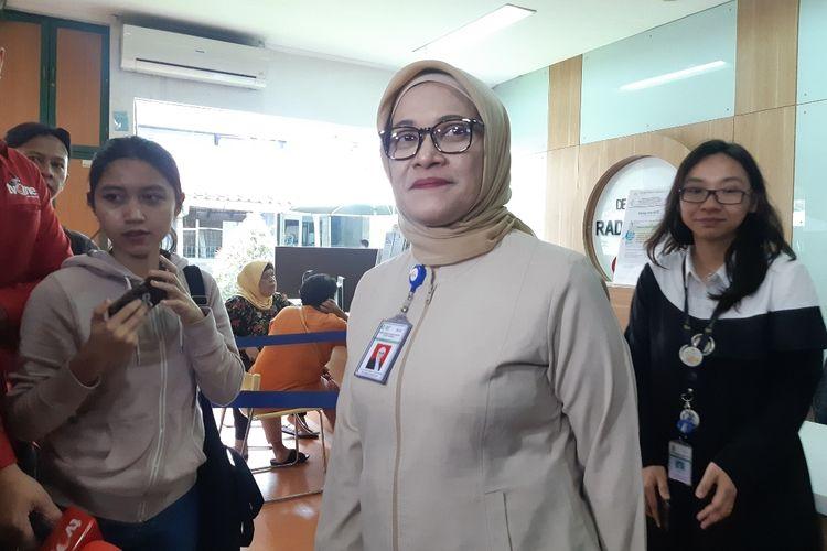 Direktur RSCM dr Lies Dina Liastuti di RSCM, Jakarta Pusat, Senin (24/2/2020)