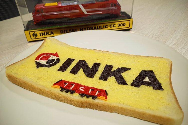 Roti meses viral buatan PT INKA untuk menjawab tantangan Chef Arnold Poernomo.