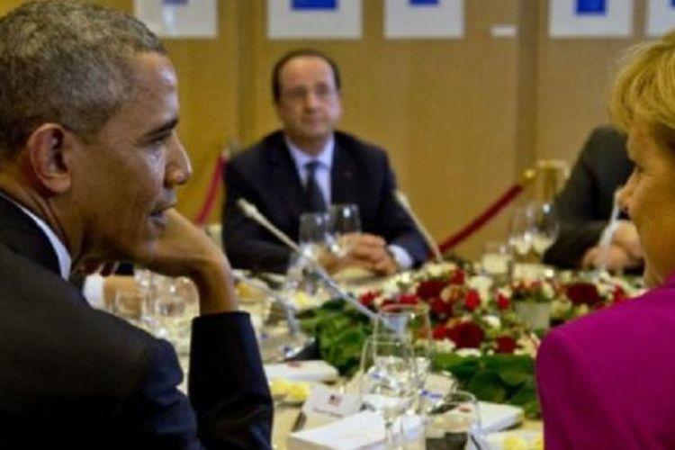 G7 merundingkan ekonomi dunia, perubahan iklim, dan masalah pembangunan.