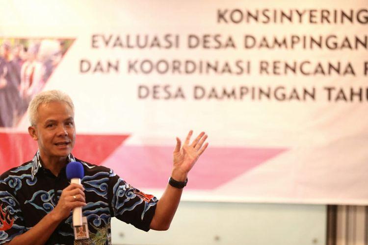 Gubernur Jawa Tengah Ganjar Pranowo dalam salah satu kesempatan.
