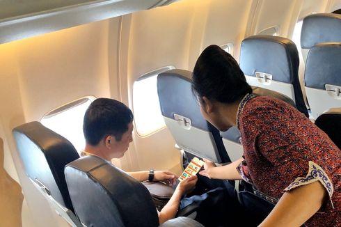 Video Viral Pramugari Lion Air Tenangkan Bayi Saat Bertugas, Begini Ceritanya