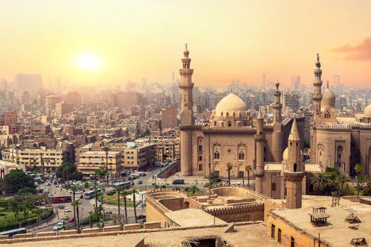 Pemandangan Kota Kairo, Mesir
