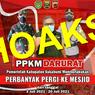 [HOAKS] PPKM Darurat di Sukabumi, Masyarakat Diminta untuk Perbanyak Pergi ke Masjid