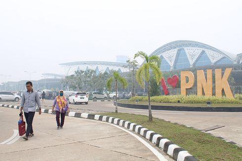 Jarak Pandang Hanya 150 Meter, Bandara Supadio Pontianak Lumpuh Total