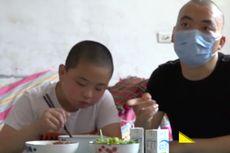 Selamatkan Ayahnya yang Terkena Kanker Darah, Bocah Ini Sumbangkan Sumsum Tulang