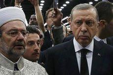 Marah, Erdogan Tinggalkan Prosesi Pemakaman Muhammad Ali