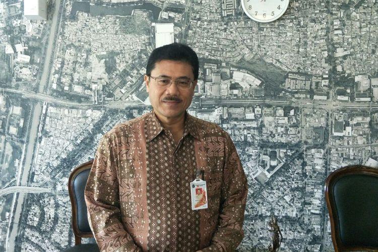 Asisten Sekretaris Daerah bidang Pemerintahan DKI Jakarta Bambang Sugiyono di Balai Kota DKI Jakarta, Jumat (17/11/2017).