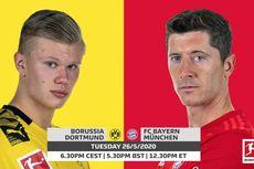 Dortmund Vs Bayern Muenchen, Adu Tajam Haaland dan Lewandowski