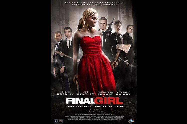 Abigail Breslin dalam film horor aksi Final Girl (2015).