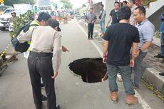 Jalan Daan Mogot Ambles, Wali Kota Tangerang Instruksikan Perbaikan Sementara