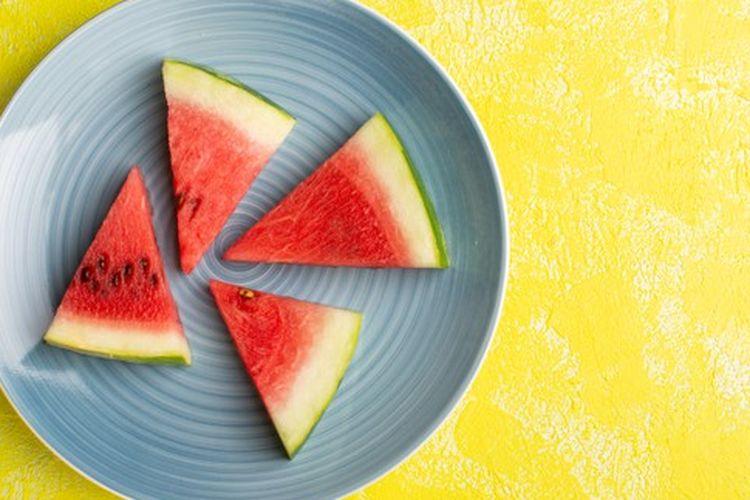 Irisan buah semangka