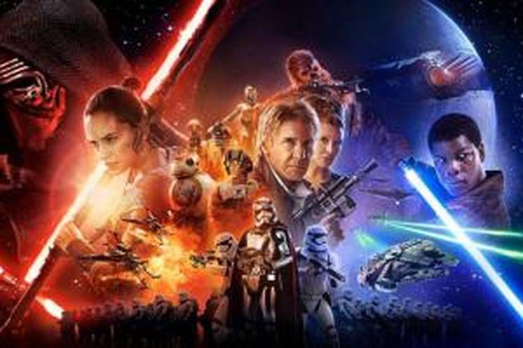 Poster film Star Wars: The Force Awakens